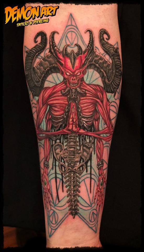 Demon Art Tattoo Bitburg