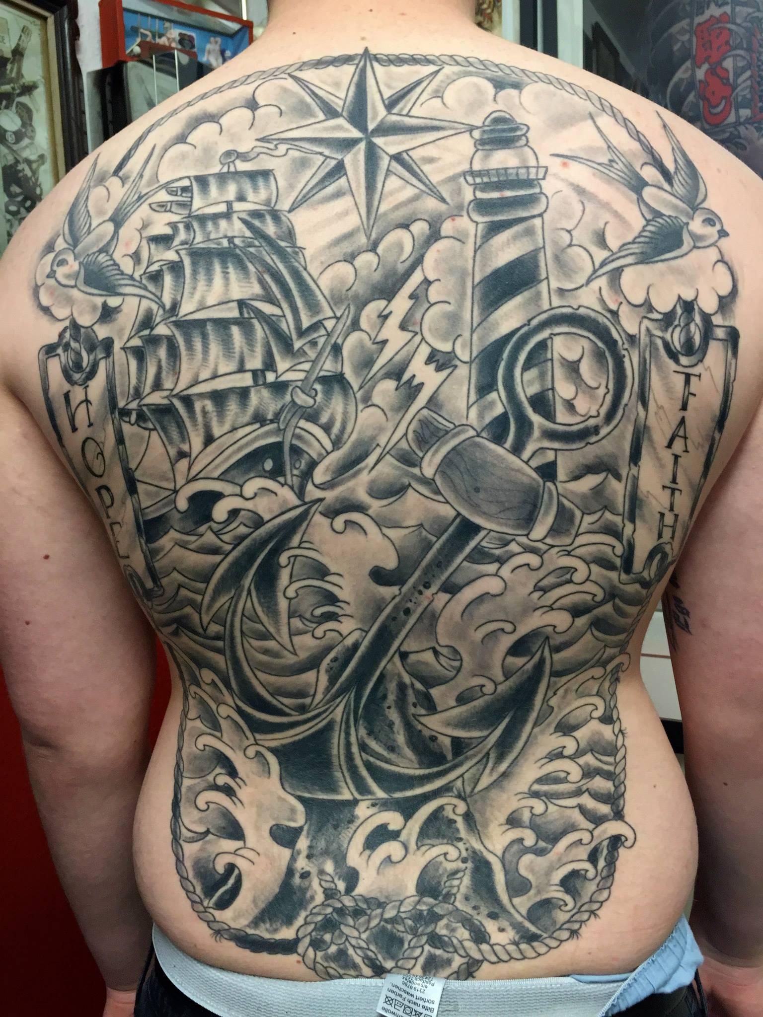 The Sinner The Saint Tattoo Aachen