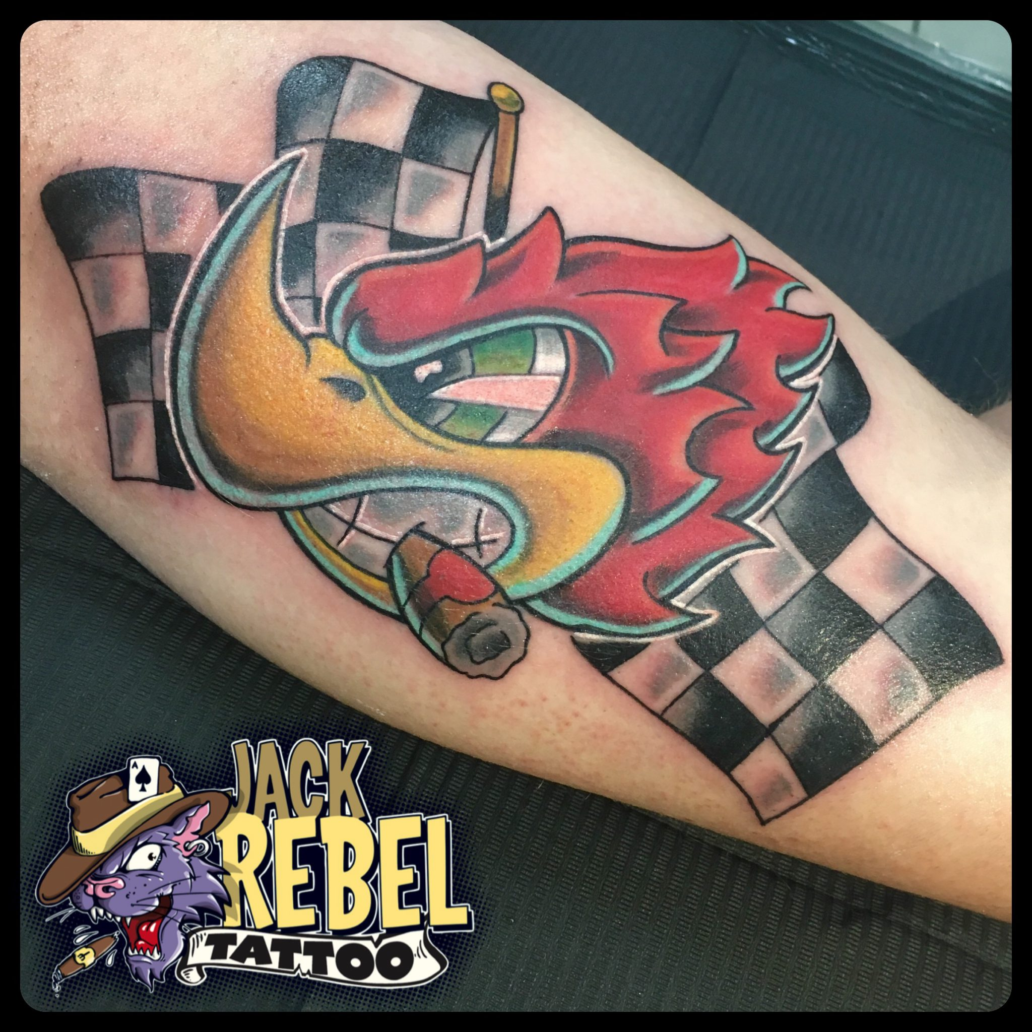 Jack Rebel Tattoo Lauf