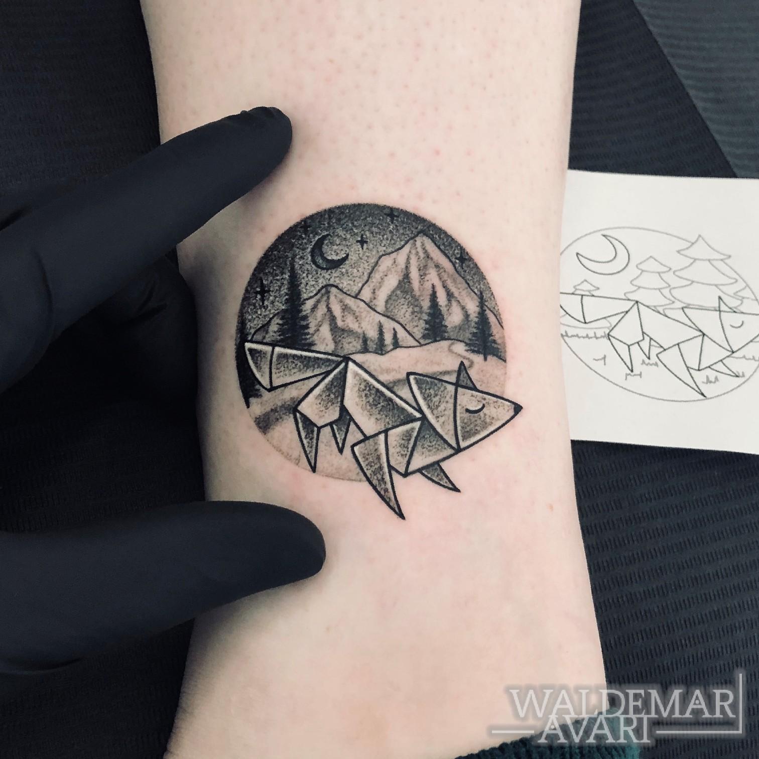 WALDEMAR AVARI - Full Colour Tattoo Bochum